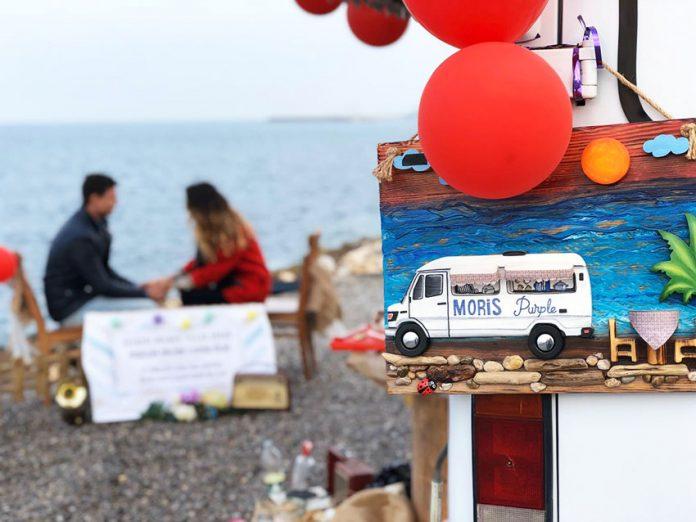 karavan evlilik teklifi organizasyonu
