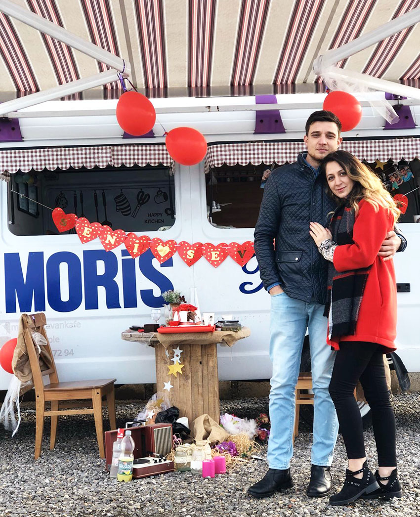 moris karavan evlilik teklifi izmir